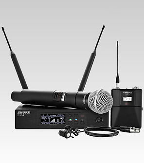 rent wireless mics, wireless microphone rental Gainesville Florida, wireless mic rental, Shure wireless rental