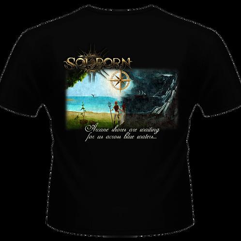 "Black T-Shirt | ""Compass to Light"""