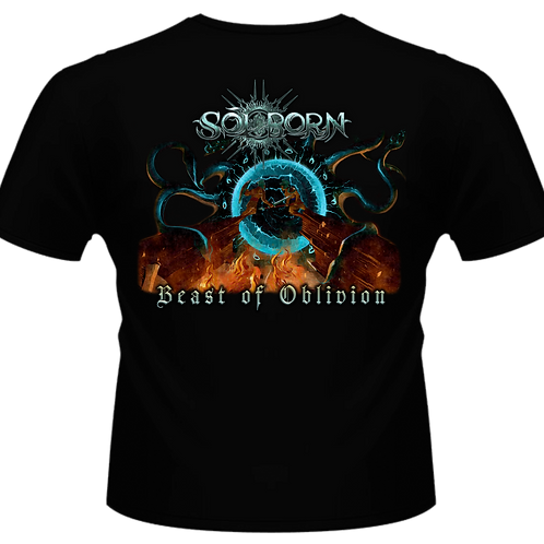 "Black T-Shirt | ""Beast of Oblivion"""