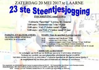 Steentjesjogging 2017