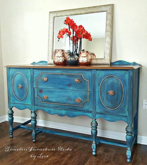 Cleo, the Antique Buffet