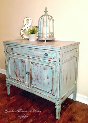 Stephanie, the Distressed Cabinet