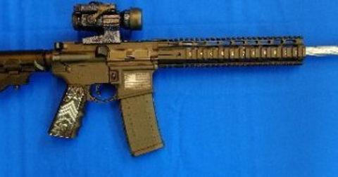 Custom-made AR-15