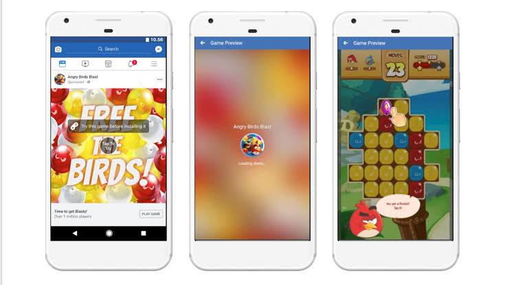 angry birds, social media, facebook, playable ads, digital marketing, 2020