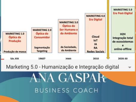 MARKETING 5.0 Estádio da Humanização e da Integração Digital
