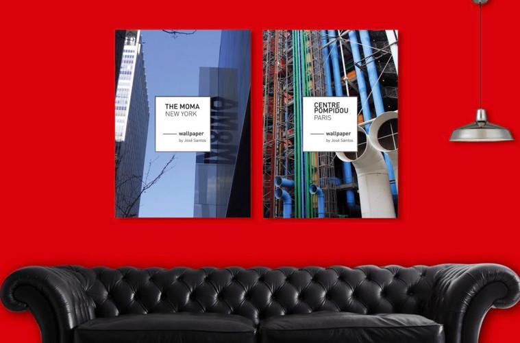 """Serie de posters """"les grands Musées"""""""