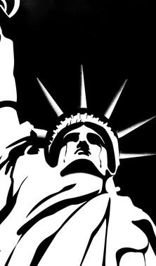 Liberty is burning