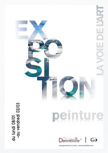 Affiche exposition peinture
