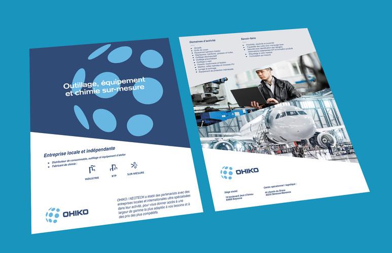 Brochure commerciale de présentation