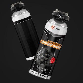 Etude de packaging aerosol