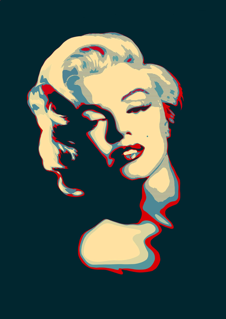Illustration Marylin