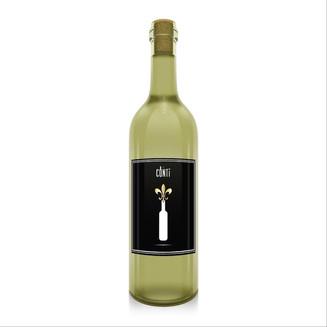 Bouteille vin blanc