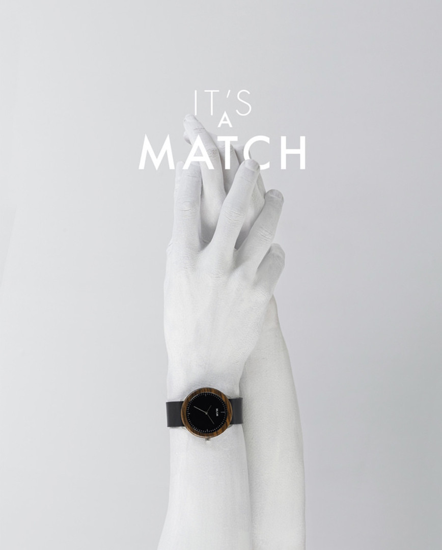 Publicité montres Match
