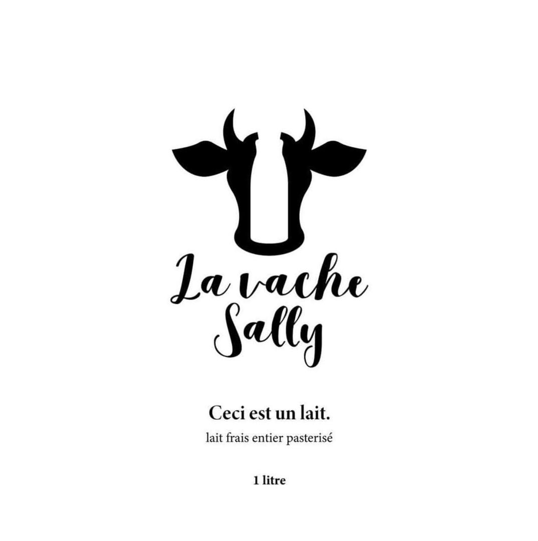 "Logo ""La vache Sally""."