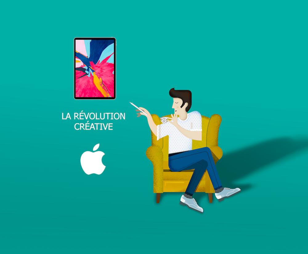 illustration revolution creative Ipad pro