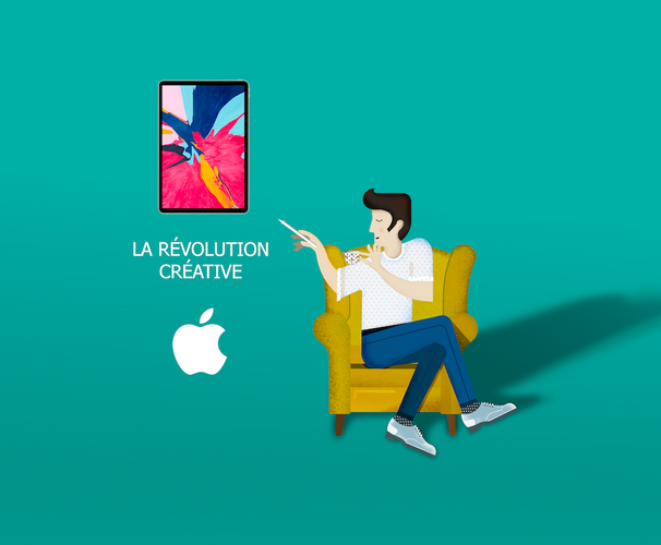illustration revolution creative Ipad pro