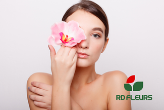 affiche logo RD Fleurs