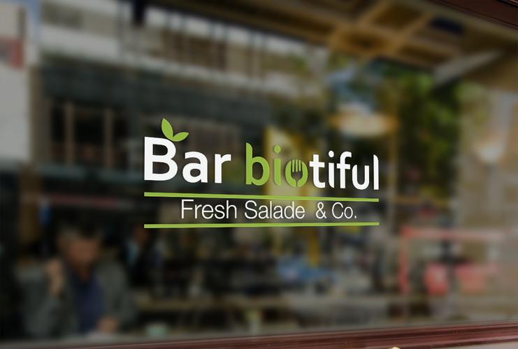 Logo bar à salade Bio