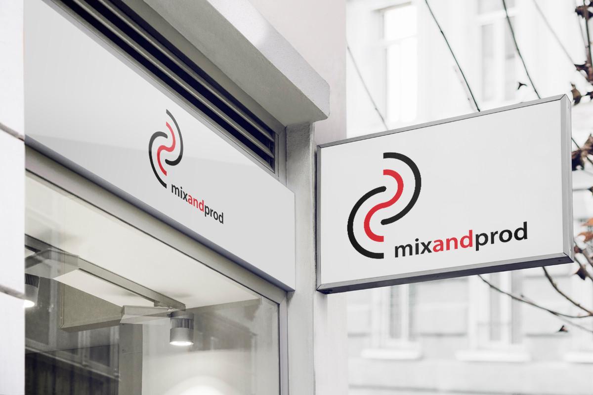 Logo radio Mix and Prod