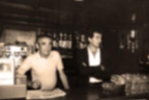 les créateurs du bar Le Conti 1973