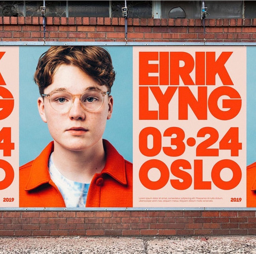 Projet affiche expo Oslo