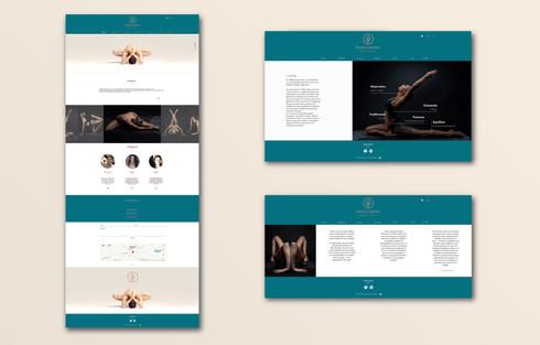 Maquette site internet Studio Evasion