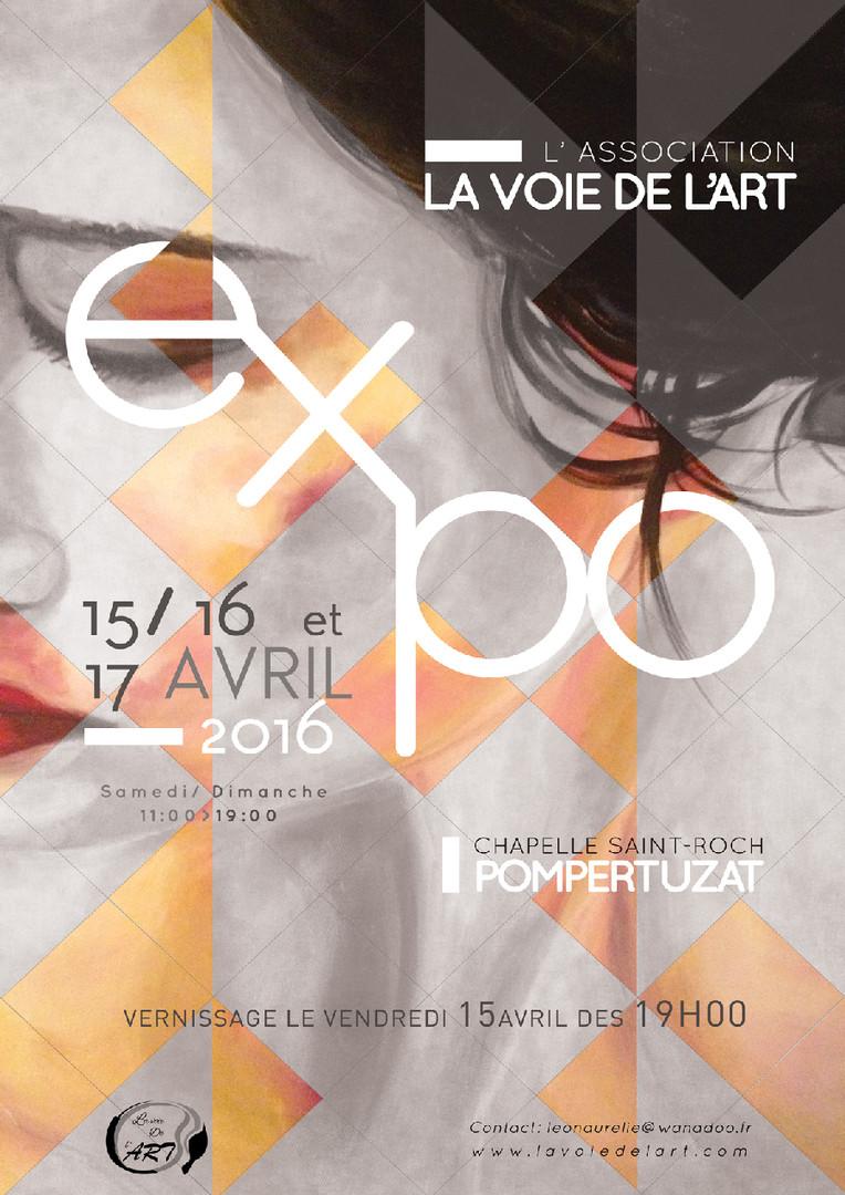 Affiche expo peinture