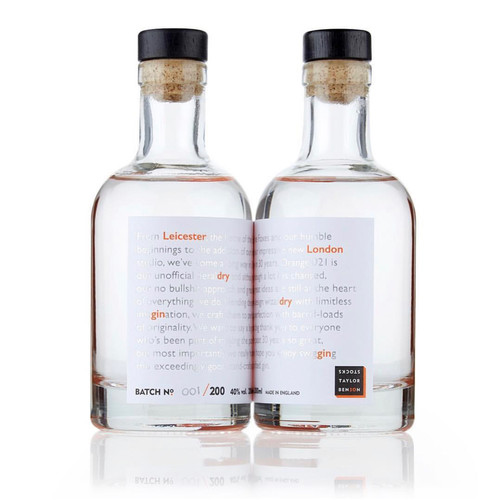 Bouteille Gin.