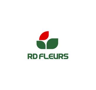 Logo fleuriste RD Fleurs