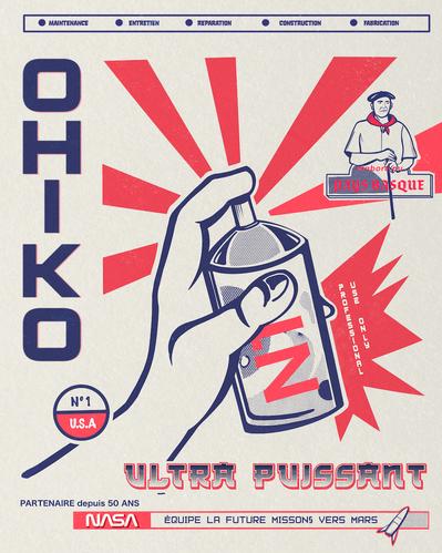 Propagande produits Ohiko
