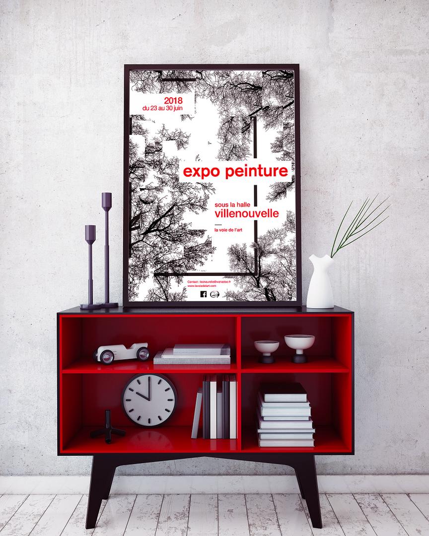 Poster de l'affiche expo 2018