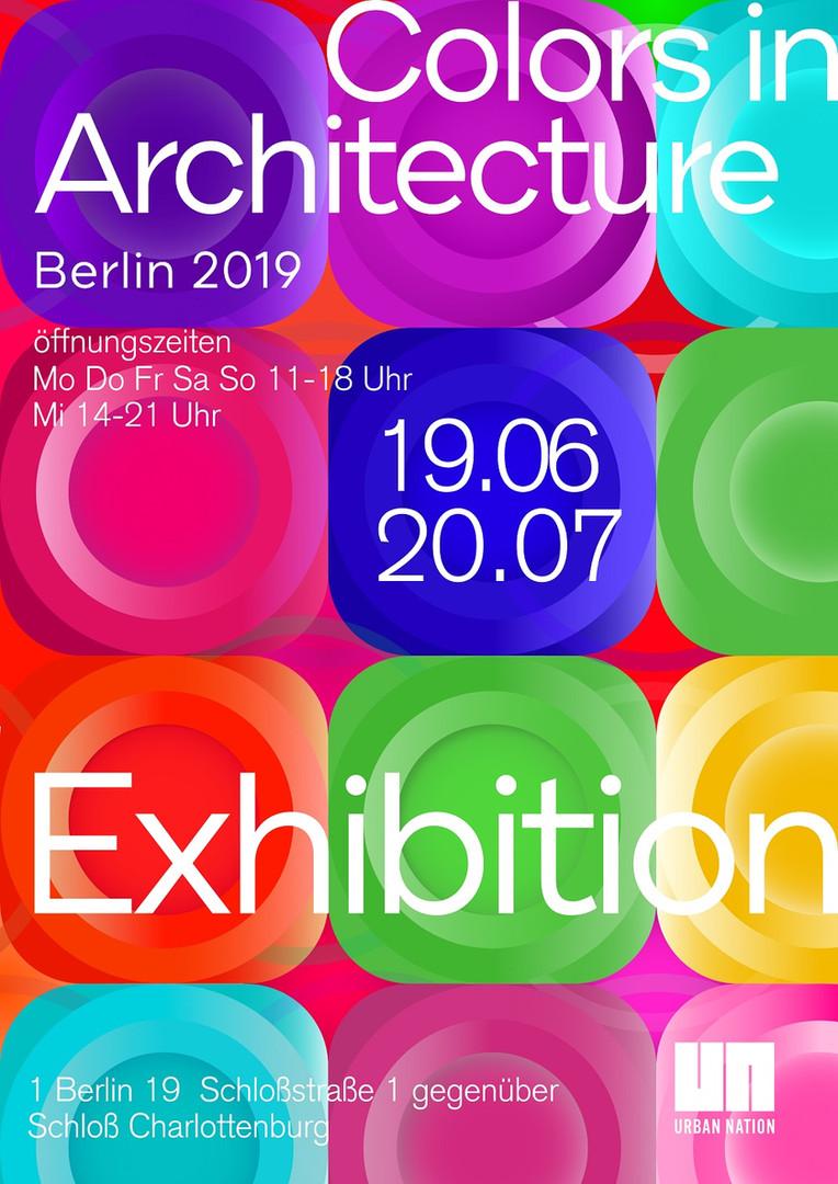 Affiche Berlin Architecture 2019