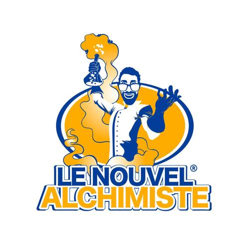 """Logo illustratif pour la marque """"Le nouvel alchimiste"""""""
