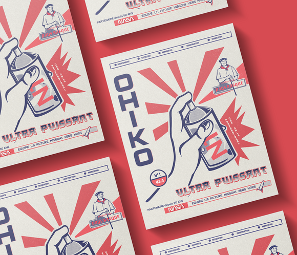 flyer-propagande produits Ohiko