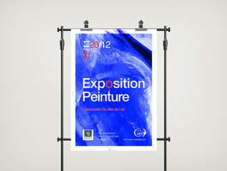 Poster affiche expo Nailloux