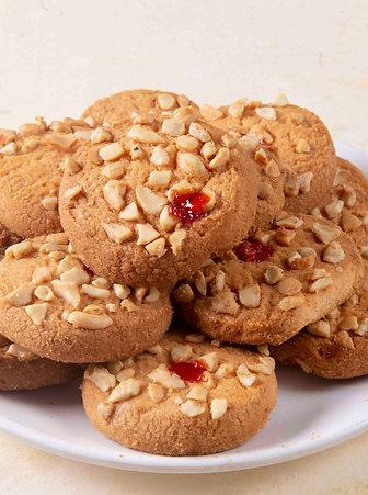 Jam Cashew  Biscuit
