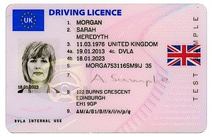 Photocard Driving Licence Extension