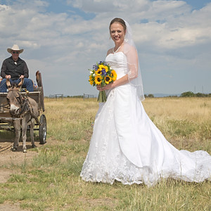 Wyoming Wedding: Kristie and Woody