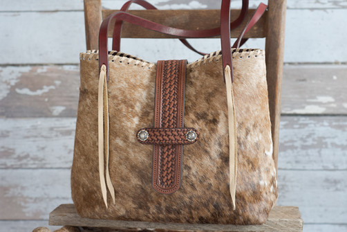 G04 Classic Tote Basket Weave Flap