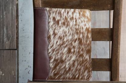Cowhide Notebook Cover
