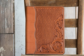 Tooled Notebook Cover