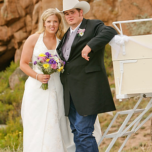 Wyoming Wedding: Em and Cody