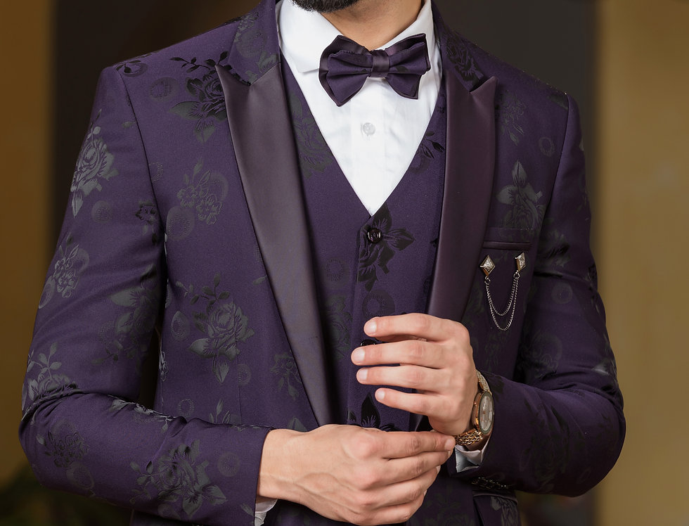 Jacquard Tuxedo