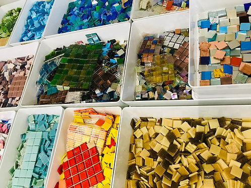 Mosaic kit for Anne Cardwell mosaic course 2018