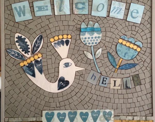 Anne Cardwell mosaic artist