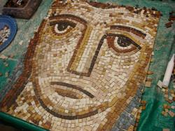 Colchester Museum mosaic workshop