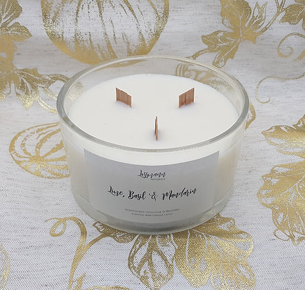 Large 50cl scented soy candle