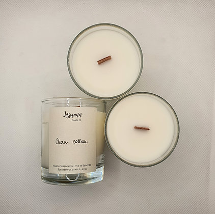 Gift Set of Two Scented Soy Candles - 20cl