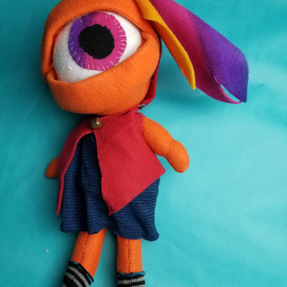 Candy (homemade plush)