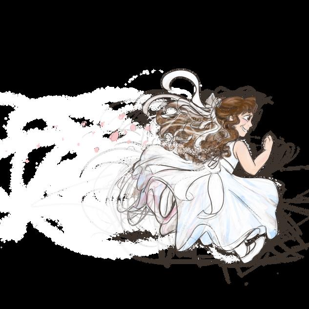 Flower Girl Run (me)